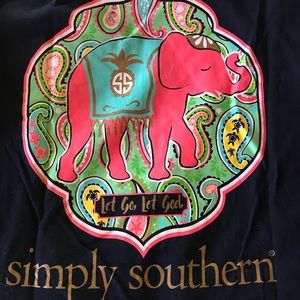 Simply Southern lot of 3 t shirts